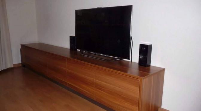 TV-meubel greeploos