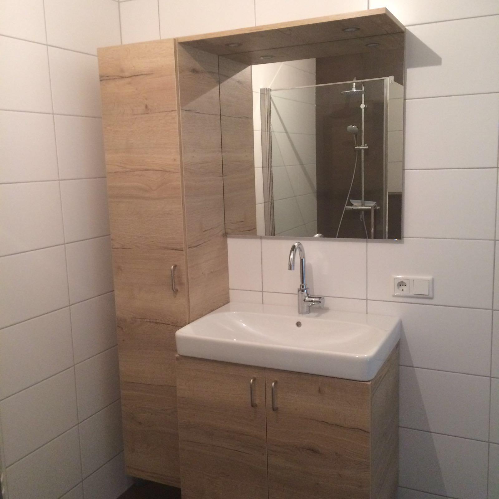 Badkamermeubels projecttypes van doren maatinterieurs - Badkamer meubels ...